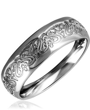 Золотое кольцо без вставок
